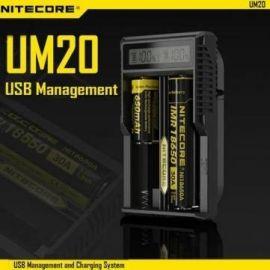 Incarcator inteligent 2 sloturi Nitecore UM20