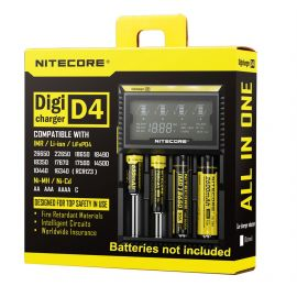 Incarcator inteligent Nitecore Digicharger D4