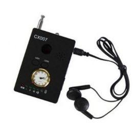 Detector Universal de Camere Ascunse/Microfoane 1-6500 MHz