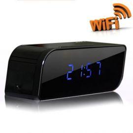 Camera Ascunsa sub forma unui ceas desteptator Mini IP Recorder WIFI
