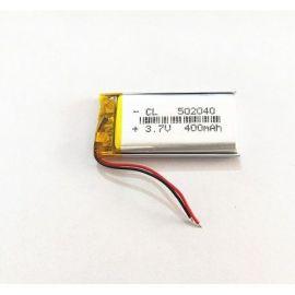 502040 - Acumulator Li-Polymer - 3,7 V - 400mah - 20x40x5 mm