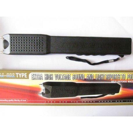 Lanterna tip 802 cu electrosoc puternic pentru autoaparare