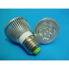 Spot cu 4 LED-uri 4W dulie E27 - lumina alba
