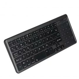 Tastatura bluetooth cu touchpad si powerbank
