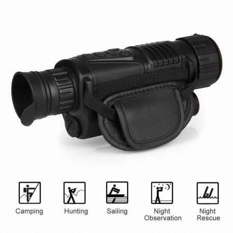 Monoclu cu night vision, functie inregistrare video si fotografiere P1-0540