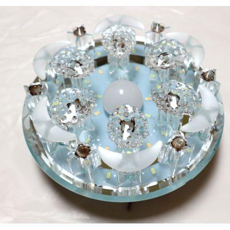 Aplica LED sticla 24W, 220x220x150 mm