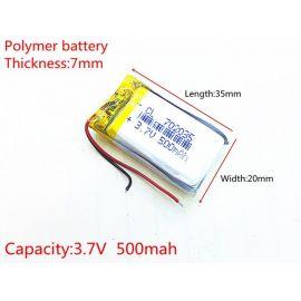 582780 - Acumulator Li-Polymer - 3,7 V - 400mah