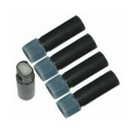 Cartridges with liquid for eGo atomizers - set 5 pcs