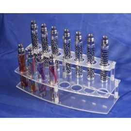 Plastic e-cigarette display stand model 1