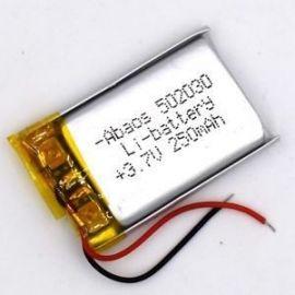 502030 - Acumulator Li-Polymer - 3,7 V - 250mah - 20x30x5 mm