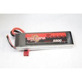 Acumulator Li-Po Wild Scorpion 5500mAh, 7.4V 30C