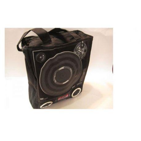 Geanta cu boxe | disc pickup design