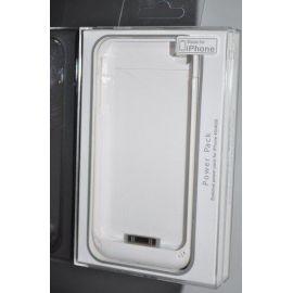 Carcasa cu baterie suplimentara iPhone4/4S Alba