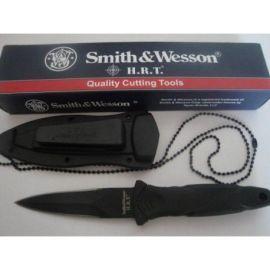 Cutit Militar tais dublu de purtat la gat Smith & Wesson HRT
