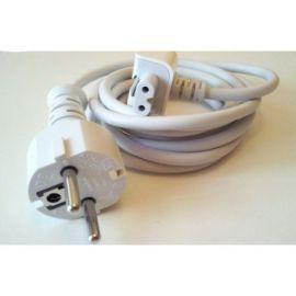 Prelungitor Cablu Tensiune cu Adaptor priza EU pt. incarcator Apple MacBook Pro Air iPhone iPod iPad iPad2