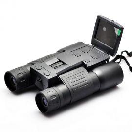 Binoclu cu inregistrare video si fotografiere, 12x32 zoom HD 720P