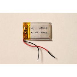 302030 - Acumulator Li-Polymer - 3,7 V - 150mah - 30x20x3 mm